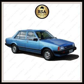 Mazda 323 4 Door Sedan